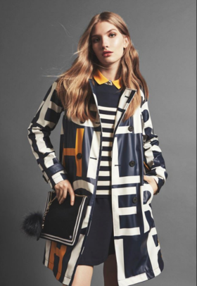 Nastya P on Vogue Tommy Hillfiger Adv Oct'16