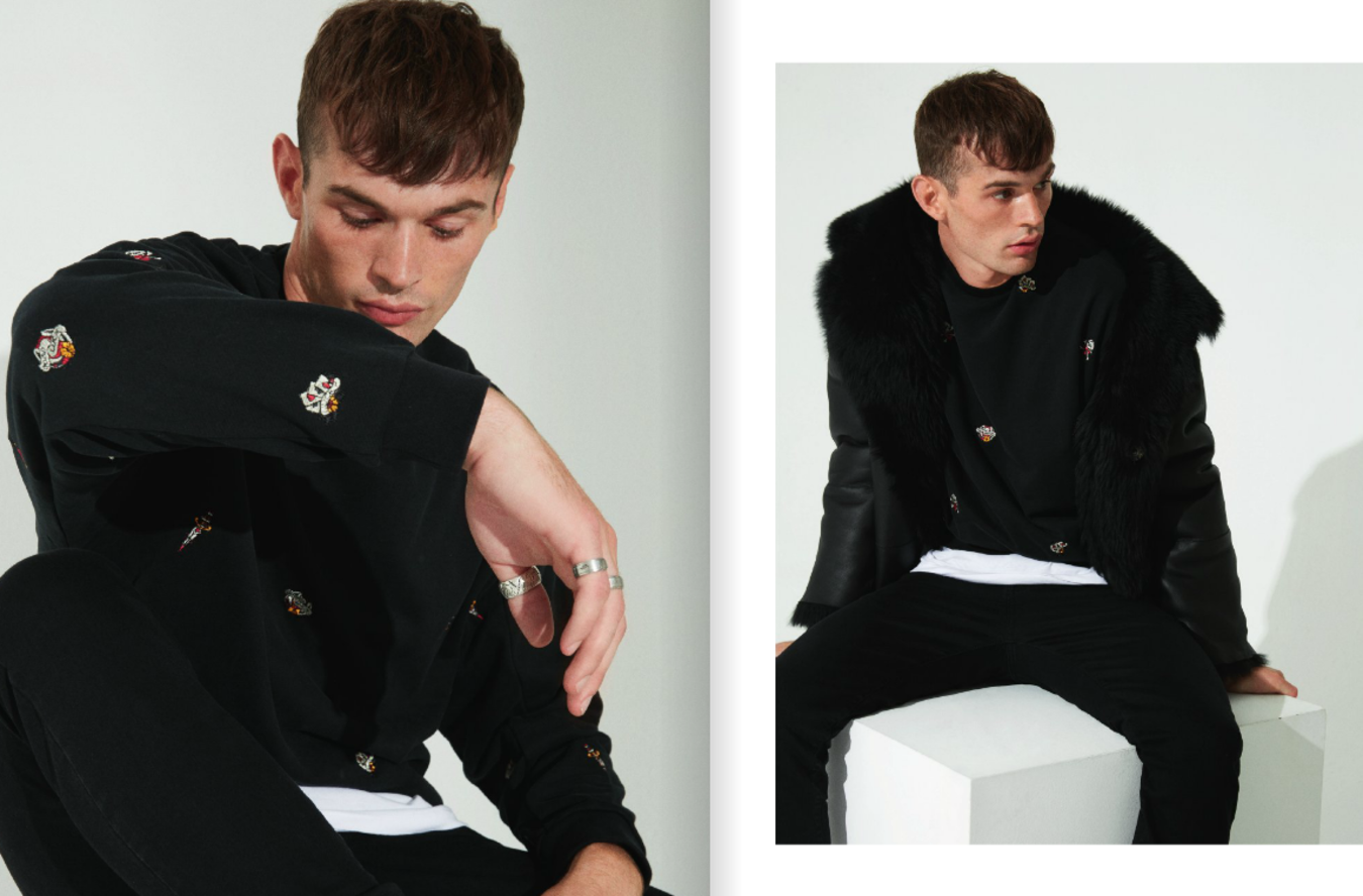 George Rigby  For BEYMEN Academia  AW'16/17