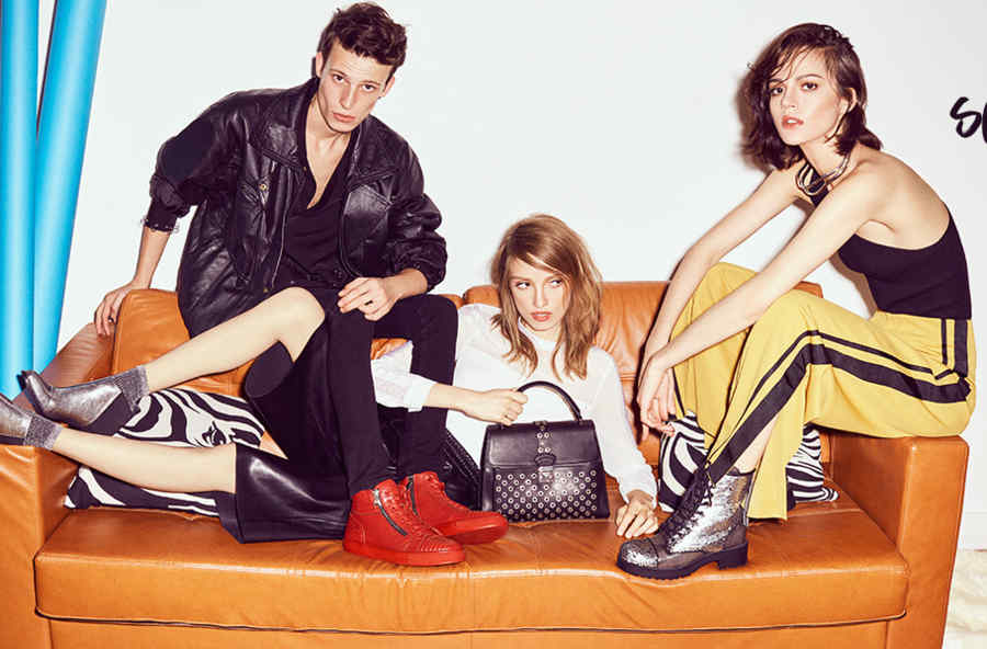 Jess, Sall & Anna V  for ELLE Shoes  AW'16-17